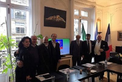Riunione della Direzione Federale del MIE a Parigi